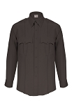 Elbeco TexTrop2 Mens Long Sleeve Shirt- Black