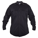 Elbeco Reflex Men's Long Sleeve Shirt - Black