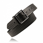 Boston Leather Basket Weave Belt