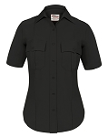 Elbeco TexTrop2 Womens Short Sleeve Shirt - Black