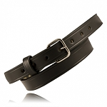"Boston Leather 1"" OFF DUTY BELT (AMERICAN VALUE LINE - Made in the USA)"