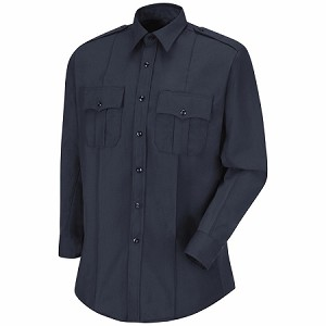 Mens Horace Small Deputy Deluxe Plus Poly Rayon Long Sleeve Shirt- HS