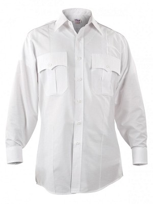 PARAGON PLUS POPLIN LONG SLEEVE SHIRTS - MEN'S (White)